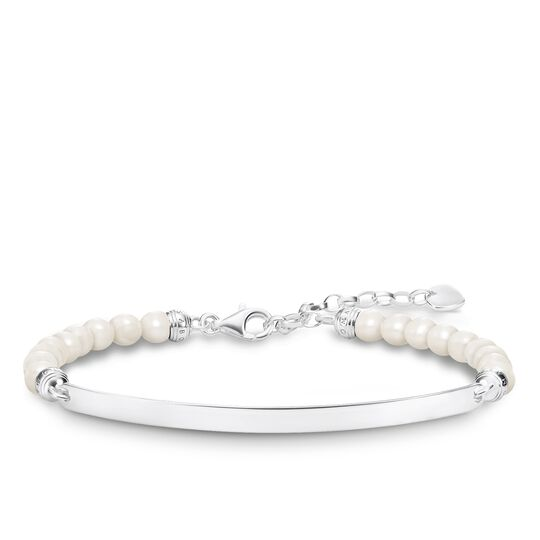 bracelet pearls from the Love Bridge collection in the THOMAS SABO online store