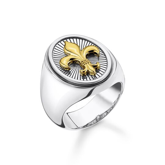 Ring fleur-de-lis gold from the  collection in the THOMAS SABO online store