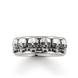 ring skulls from the Rebel at heart collection in the THOMAS SABO online store