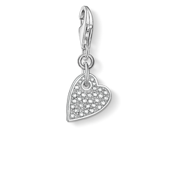 "Charm pendant ""heart LOVE"" from the  collection in the THOMAS SABO online store"