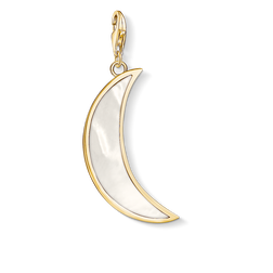 Charm pendant Moon mother-of-pearl from the  collection in the THOMAS SABO online store
