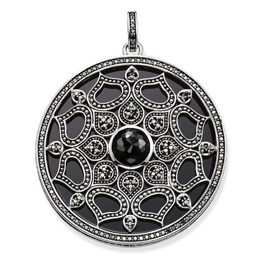 """pendant """"black lotus"""" from the Glam & Soul collection in the THOMAS SABO online store"""