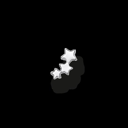 Clou d'oreille unique étoiles argent de la collection Charming Collection dans la boutique en ligne de THOMAS SABO