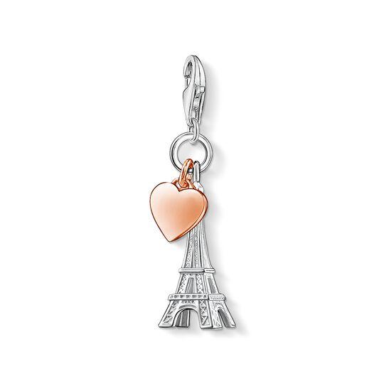 colgante Charm torre Eiffel y corazón de la colección Charm Club en la tienda online de THOMAS SABO