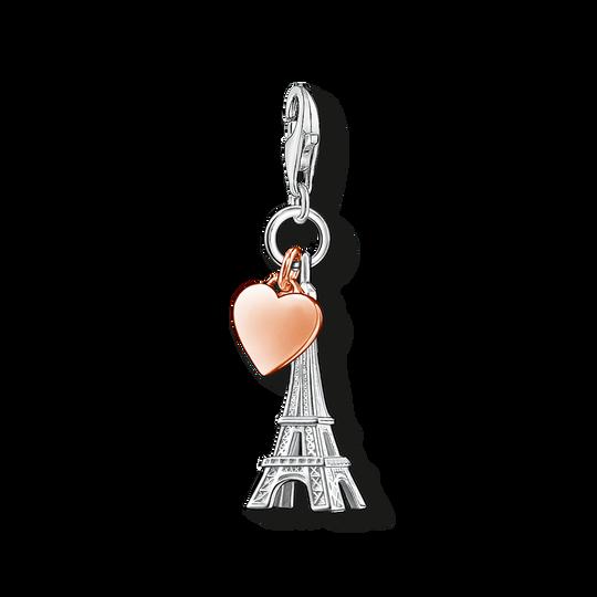 Charm-Anhänger Eiffelturm mit Herz aus der Charm Club Kollektion im Online Shop von THOMAS SABO