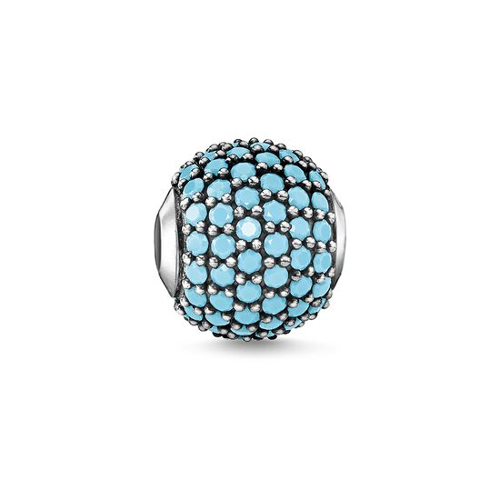 """Bead """"pavé turquoise"""" from the Glam & Soul collection in the THOMAS SABO online store"""