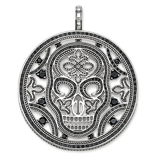 pendant amulet skull from the Rebel at heart collection in the THOMAS SABO online store