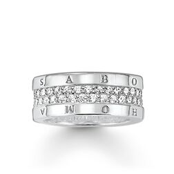 """eternity ring """"classic white"""" from the Glam & Soul collection in the THOMAS SABO online store"""