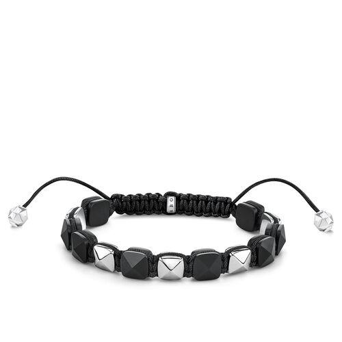 """Armband """"schwarze Nieten"""" aus der Glam & Soul Kollektion im Online Shop von THOMAS SABO"""