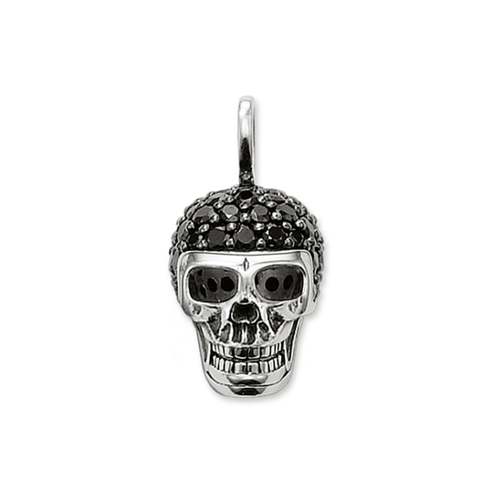 pendant skull pavé from the Rebel at heart collection in the THOMAS SABO online store