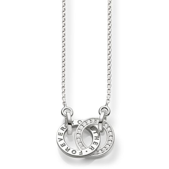 Necklace Forever Togethersmall silver from the  collection in the THOMAS SABO online store
