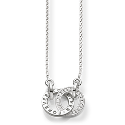 "necklace ""TOGETHER FOREVER"" from the Glam & Soul collection in the THOMAS SABO online store"