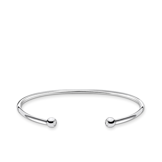 Bangle dots with stone from the Charming Collection collection in the THOMAS SABO online store