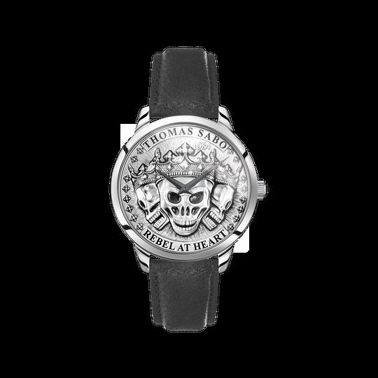 reloj para señor Rebel Spirit calaveras 3D plata de la colección  en la tienda online de THOMAS SABO