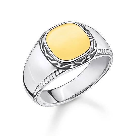 Ring Tiger Muster gold aus der Rebel at heart Kollektion im Online Shop von THOMAS SABO