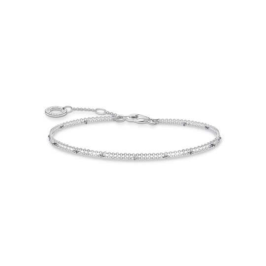 Bracelet double strand silver from the Charming Collection collection in the THOMAS SABO online store