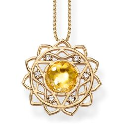 "necklace ""solar plexus chakra"" from the Chakras collection in the THOMAS SABO online store"