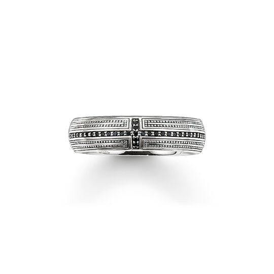 band ring cross pavé from the  collection in the THOMAS SABO online store