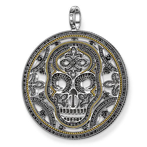 """Anhänger """"Diamant Totenkopf"""" aus der Rebel at heart Kollektion im Online Shop von THOMAS SABO"""