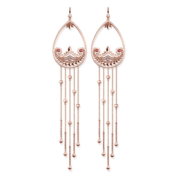 "earrings ""paisley design"" from the Glam & Soul collection in the THOMAS SABO online store"