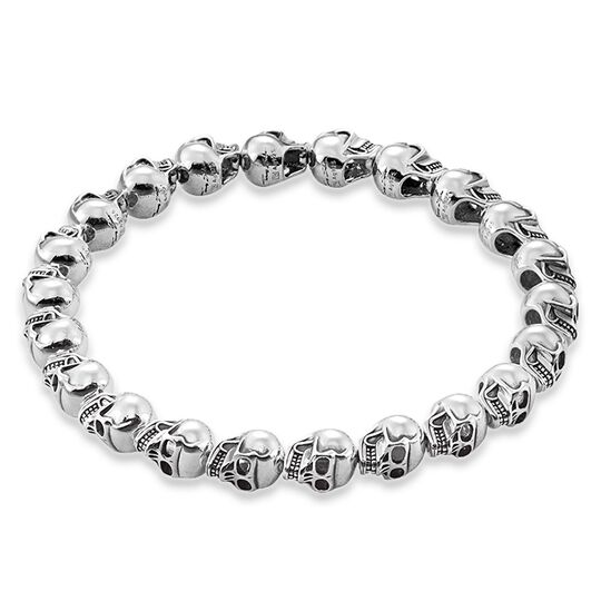 "bracelet ""skulls"" from the Rebel at heart collection in the THOMAS SABO online store"