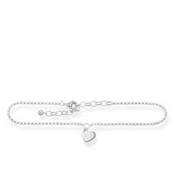 "anklet ""heart"" from the Glam & Soul collection in the THOMAS SABO online store"