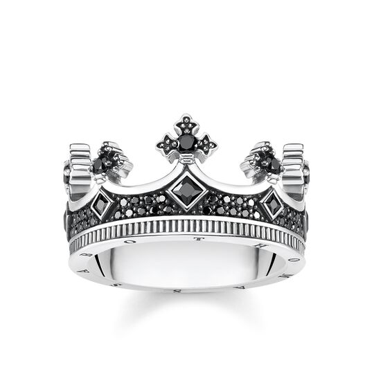 ring crown from the Rebel at heart collection in the THOMAS SABO online store