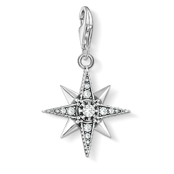 Charm pendant Royalty Star from the Charm Club Collection collection in the THOMAS SABO online store