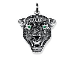 "pendentif ""Black Cat grand"" de la collection Rebel at heart dans la boutique en ligne de THOMAS SABO"
