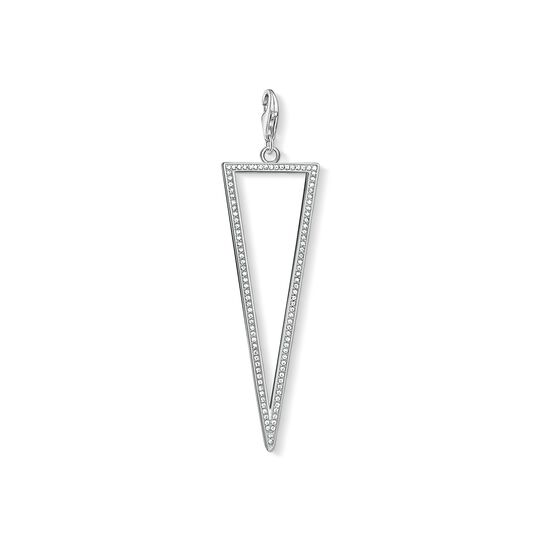 Charm pendant triangle from the Charm Club collection in the THOMAS SABO online store