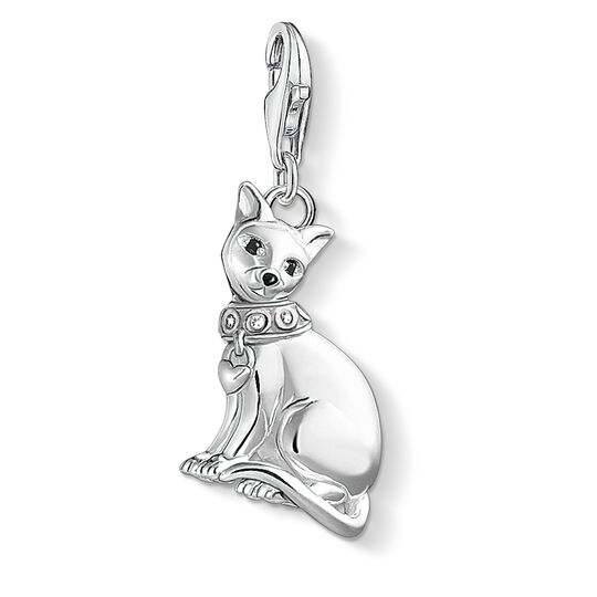 """Charm pendant """"Siamese cat"""" from the  collection in the THOMAS SABO online store"""