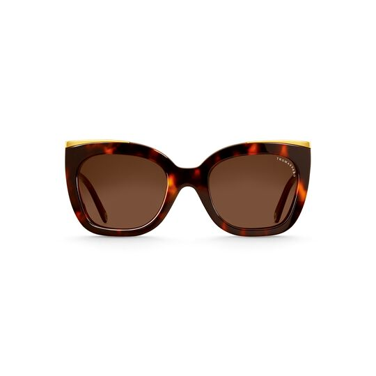 Sunglasses Audrey Cat-Eye Havana from the  collection in the THOMAS SABO online store