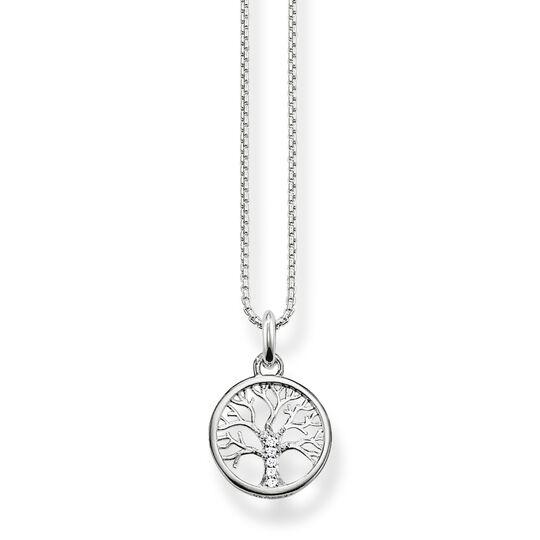 Halsband kärlekens träd silver ur kollektionen  i THOMAS SABO:s onlineshop