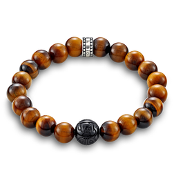 "bracelet ""brown"" from the Rebel at heart collection in the THOMAS SABO online store"