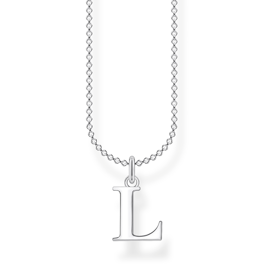 Necklace letter L from the Charming Collection collection in the THOMAS SABO online store