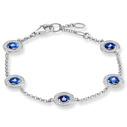 "bracelet ""Light of Luna dark-blue"" from the Glam & Soul collection in the THOMAS SABO online store"