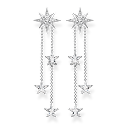 orecchini pendenti stellari argento from the Glam & Soul collection in the THOMAS SABO online store