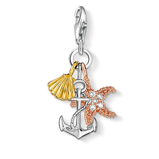 "ciondolo Charm ""estate / spiaggia"" from the  collection in the THOMAS SABO online store"
