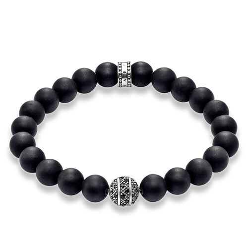"bracelet ""zig zag"" from the Rebel at heart collection in the THOMAS SABO online store"