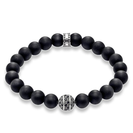 """bracelet """"zig zag"""" from the Rebel at heart collection in the THOMAS SABO online store"""