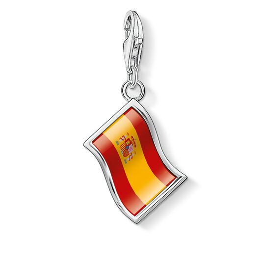 Charm pendant flag Spain from the  collection in the THOMAS SABO online store