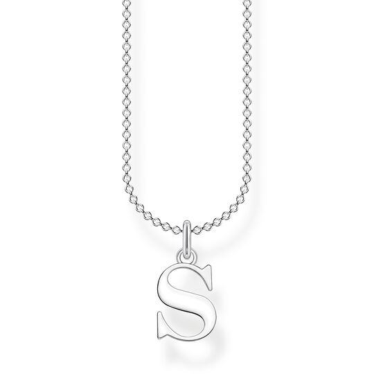 Necklace letter S from the Charming Collection collection in the THOMAS SABO online store