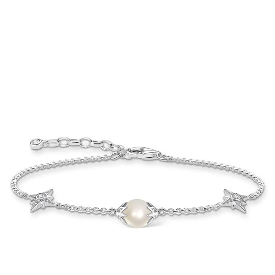 Bracelet pearl with stars silver from the Glam & Soul collection in the THOMAS SABO online store