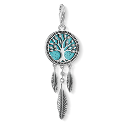 charm pendant dreamcatcher Tree of Love from the  collection in the THOMAS SABO online store