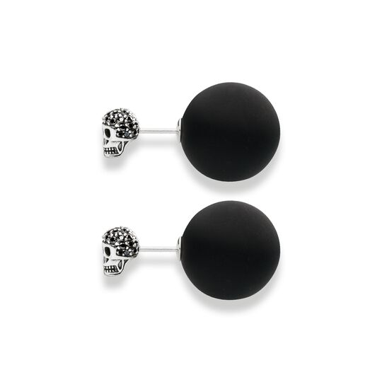 ear studs double stud skull from the  collection in the THOMAS SABO online store