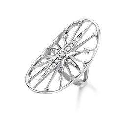"ring ""Royalty Star silver"" from the Glam & Soul collection in the THOMAS SABO online store"
