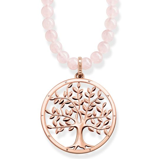 "necklace ""Power Necklace Tree of Love Pink"" from the Glam & Soul collection in the THOMAS SABO online store"