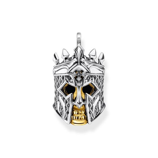 Pendant skull knight from the  collection in the THOMAS SABO online store