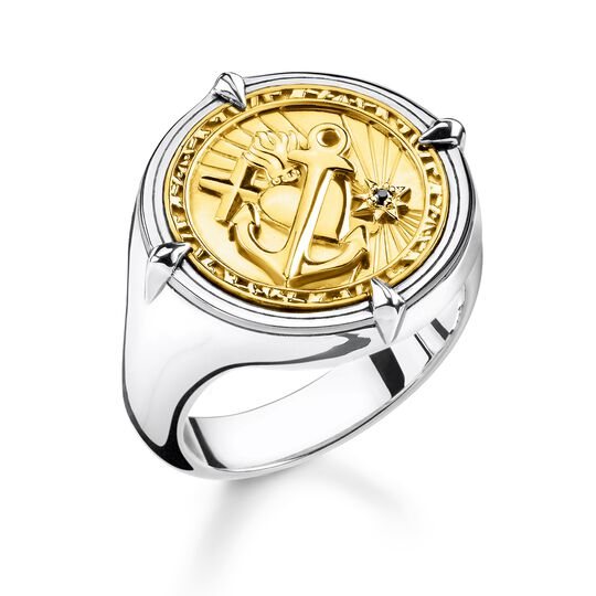 "ring ""faith, love, hope"" from the Rebel at heart collection in the THOMAS SABO online store"