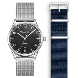 SET CODE TS Reloj negro & correa azul marino de la colección  en la tienda online de THOMAS SABO